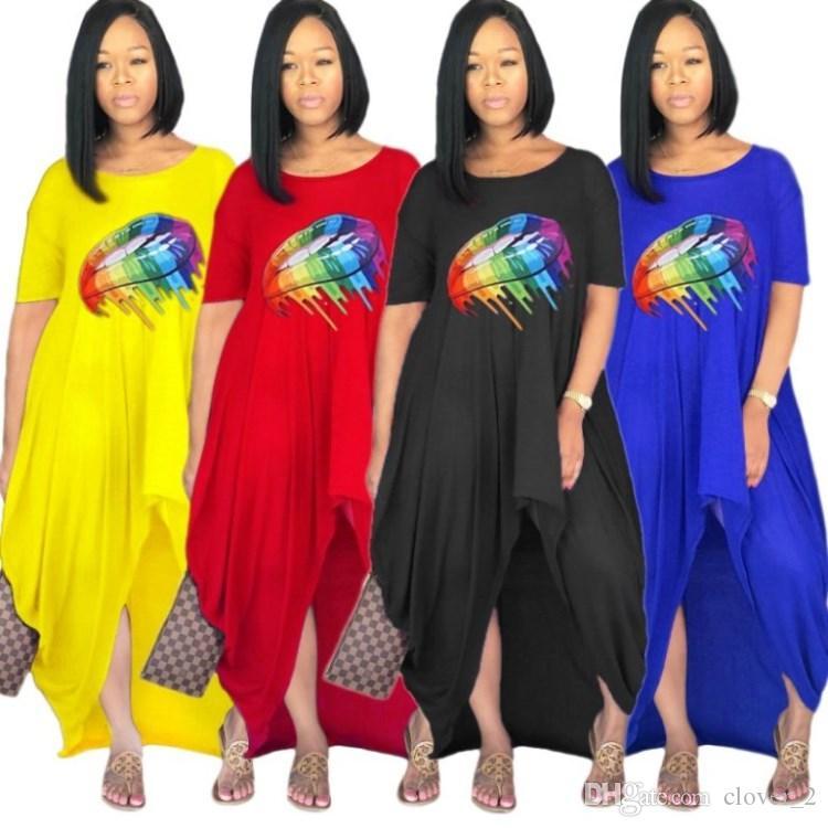 Été sexy femmes robe jupes lâche, plus la taille des vêtements décontractés nouvelle vente chaude été vêtements femmes commerce extérieur robe klw1753