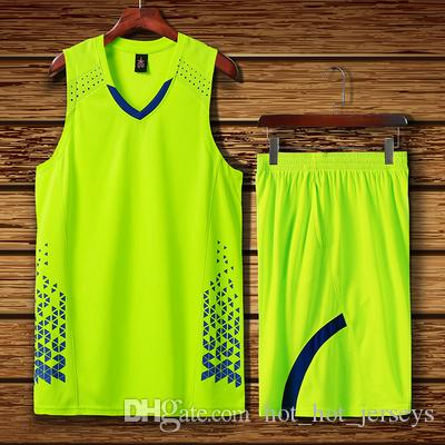2020 arancione NCAA Men Basketball Maglie Imposta Uniformi economici adulto Team Sports Kit vestiti personalizzati Jersey Camicie Shorts