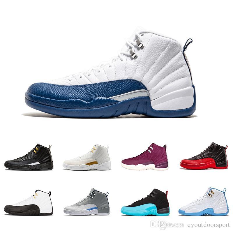 2021 12 12 ثانية أحذية كرة السلة أحذية رياضية أسود أبيض CNY Playoff The Master Gym Red Gamma Blue Mens Sports Shoe