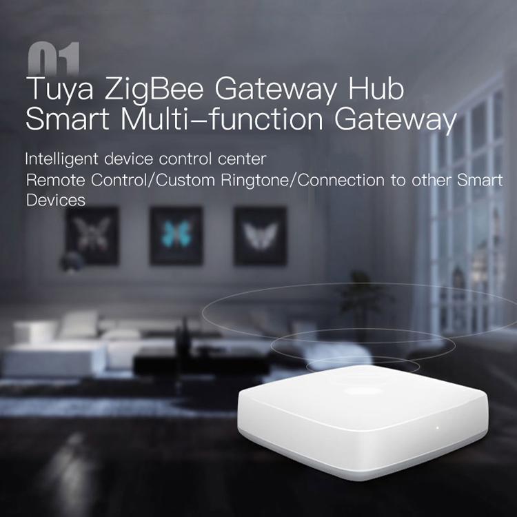 smart Tuya passerelle ZigBee commande vocale gratuite hautement compatible et Compatible avec Mains- alexa et accueil Google