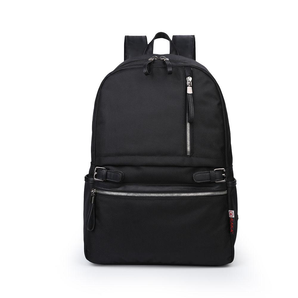 2019 summer Fashion backpack for men Casual backpack school bag black color wholesale hot sale