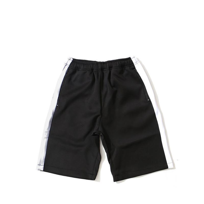 Type droit Relaced en vrac Basketball Vêtements Drawstring Hommes d'été Shorts Designer Pantalons Mode Sport de plage en coton