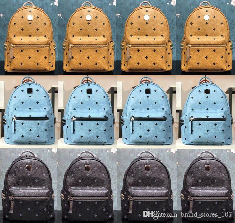Genuine Pelle di alta qualità 3 Dimensione Uomo Donna Zaino Donne famoso Zaino Designer Lady Backpacks Borse Donna Uomo Back Pack