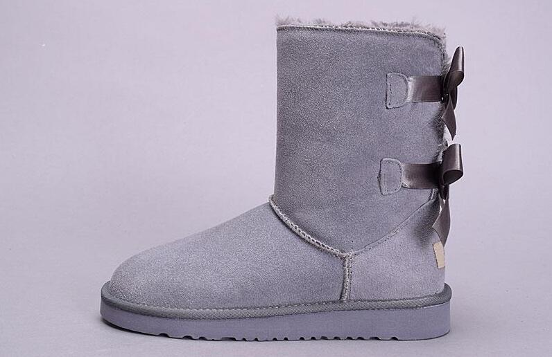Mulheres Inverno Bota Curta Novo Único Duplo Fita Botas De Neve Luz Confortável Quente 31803280 Único Duplo Arco-nó Mulheres Sapatos De Algodão