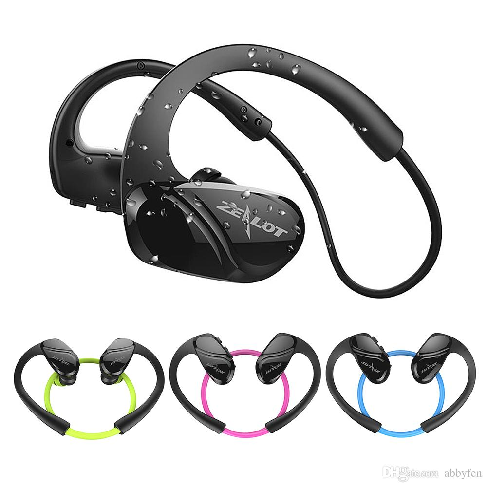 New Zealot H6 Sports Bluetooth Headphones Stereo Bass Wireless Earphone With Microphone For Smartphone Running Headset Cordless Headphones Earbuds For Running From Abbyfen 12 07 Dhgate Com