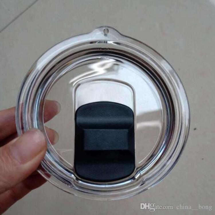 스테인레스 스틸 텀블러 YE 컵 도매 30온스 20온스 자기 뚜껑 자석 투명 뚜껑 커버 자동차 맥주 머그잔 스플래쉬 유출 증거 커버