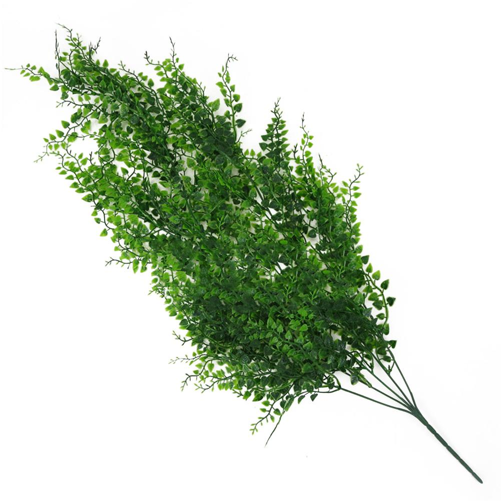 Fake Vine Home Garden Decorative Office Club DIY Green Artificial Plant Living Room Bar Wall Hanging Leaves Plastic
