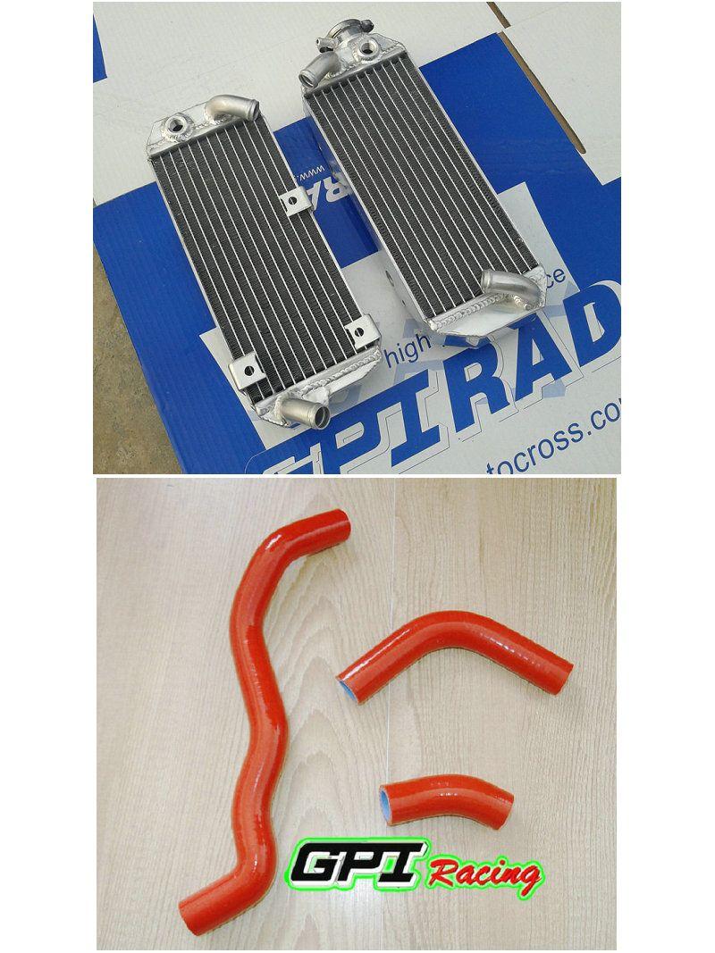 Алюминиевый радиатор + шланг для DRZ400S DRZ400SM 00 01 02 03 04 05 06 07 08 2007