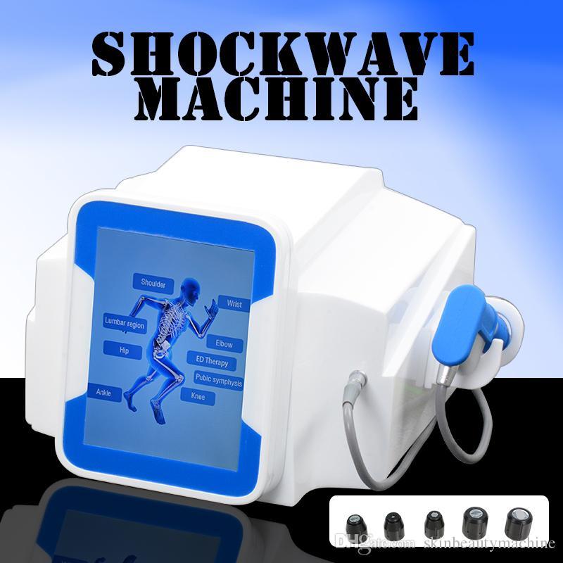 2019 équipement de thérapie physique Shockwave thérapie musculaire Stimulateur physique ED thérapie extracorporelle équipement d'onde de choc DHL