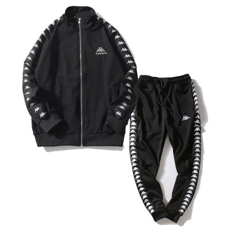 남성 캐주얼 정장 스포츠 팬츠 2 피스 바람 바지 사용자 지정 웨 빙 재킷 바지