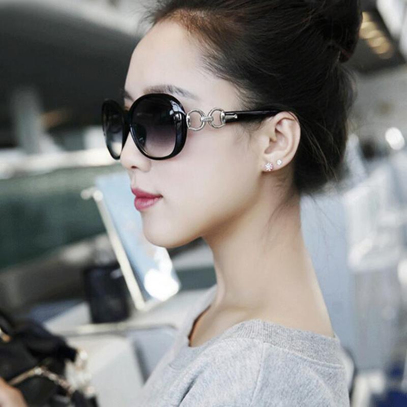 Moda óculos polarizados para as Mulheres Verão Polar Polaroid Óculos de proteção UV 400 Moda Óculos de Sol Feminino Eyewear