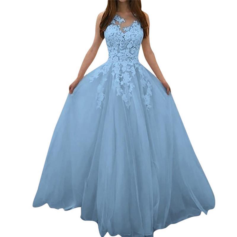 z0410 elegante de la fiesta de noche de gasa vestido de novia de las mujeres del algodón del verano y del lino floral de encaje vestido atractivo Vestido de tirantes Vestido