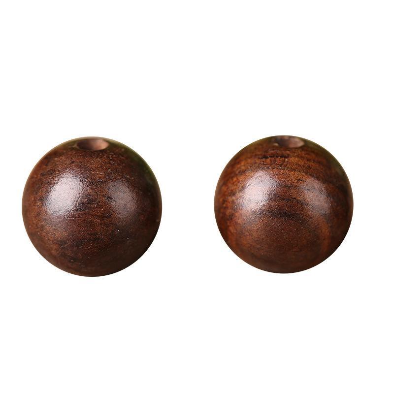 Fascini 8MM perle naturali fai da te perline in legno situato 300pcs / Lot di caffè marroni perle di legno fai da te per monili che fanno rilievo foro rotondo