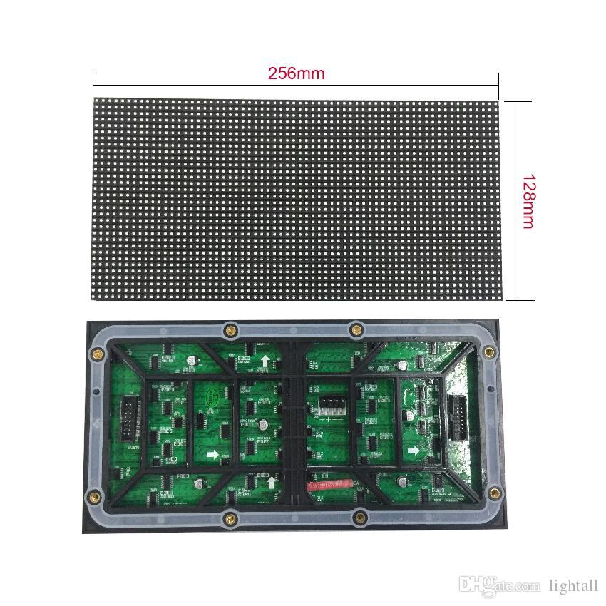 64x32 야외 RGB p4 야외 방수 led 모듈 비디오 벽 고품질 P3 P4 P5 P6 P8 P10 rgb 모듈 풀 컬러 led 디스플레이