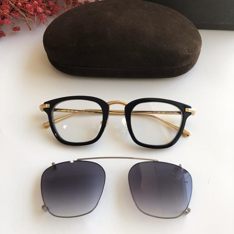 عالية الجودة للجنسين TF5496 التدرج كليب على النظارات الشمسية UV400 الإطار البصرية المستوردة لوح + معدن 48-24-145 fullset التعبئة FREESHIPPING