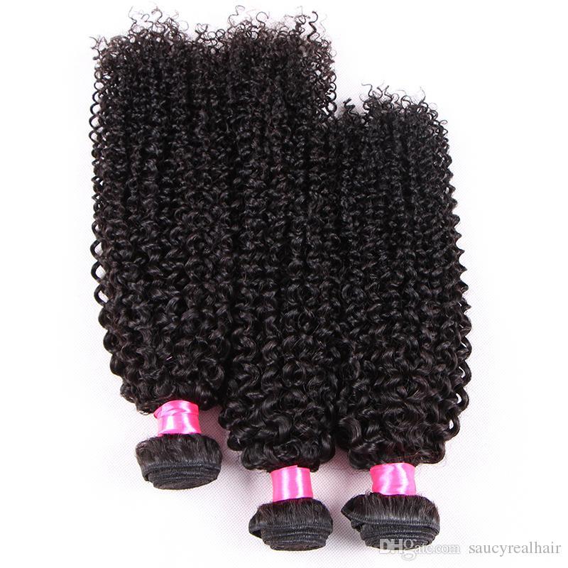 8A Grade--3 Bundles Deals Afro Kinky Curly Hair Spiral Curl Weave 100% Human Hair Peruvian Virgin Hair Curly Wave Aunty Funmi Bouncy Curls