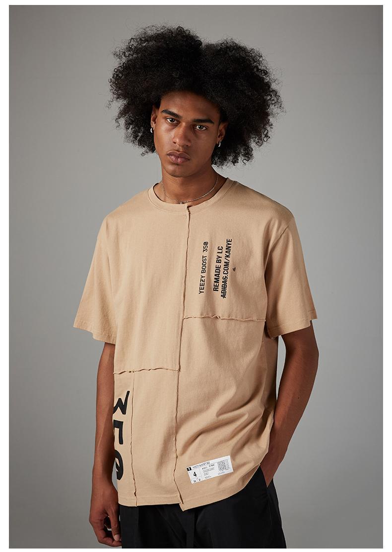 2020 mens womens t shirts summer i feel like pablo Tee short Sleeve O-neck T Shirt Kanye West Letter Print tees male shirt hip hop clot98e6#