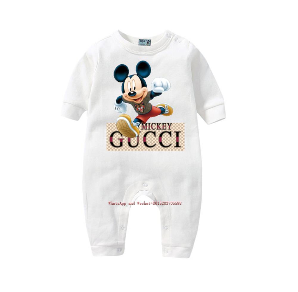 Новый мальчик новорожденный комбинезон с длинным рукавом комбинезон младенческой Скалолазание качество печатных цельный 031619