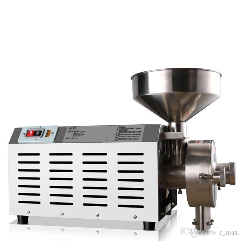 macchine di fresatura grano semi multifunzionali Erbe Grinder schiacciamento della macchina rettificatrice Pepper chicco di caffè soia frantoio