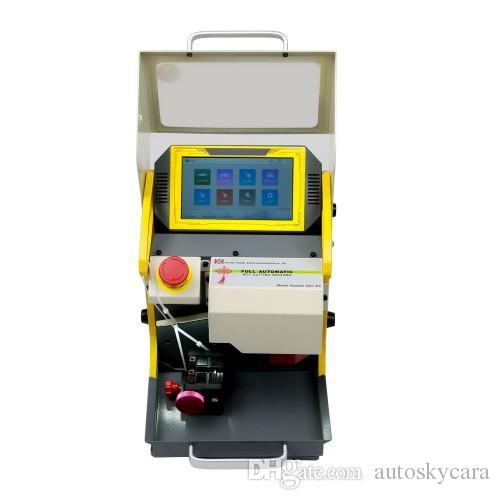 SEC-E9 Automated Key Cutting Machine Modern Car Key Making Machine Professional Key Copy Machine Work On Car, Truck, Motorcycle, House