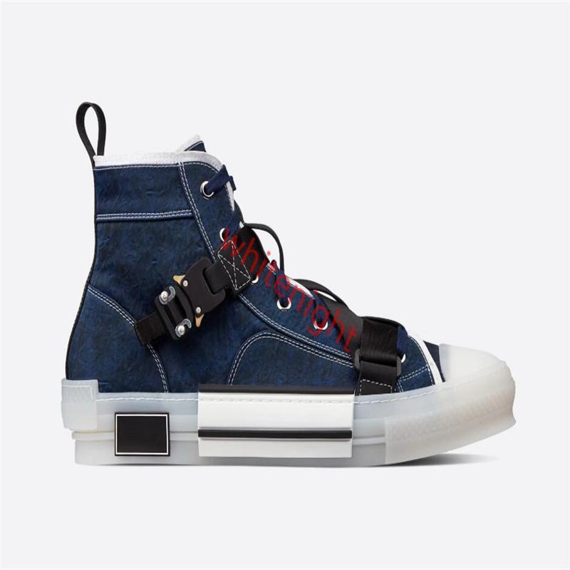 Yeni 19SS Eğik teknoloji kumaşlar yüksek yardım gündelik hococal Ayakkabı B23 Erkek lüks Tasarımcı Ayakkabı moda rahat Womens Shoes