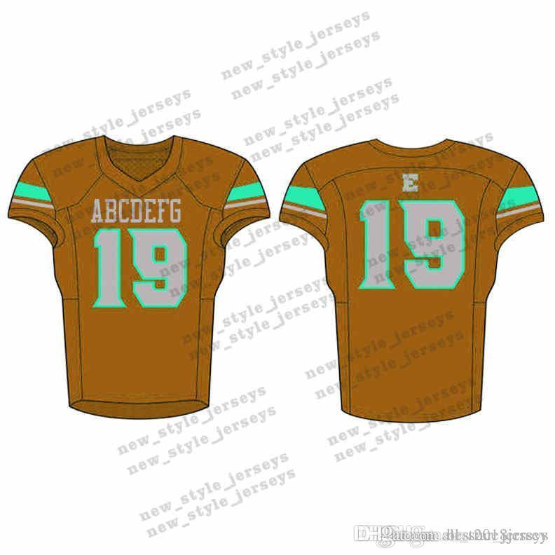 8Men 2019 Молодежный футбол Джерси Army Green бордовый Вышивка логотипов сшил на заказ любое имя любое количество трикотажных изделий