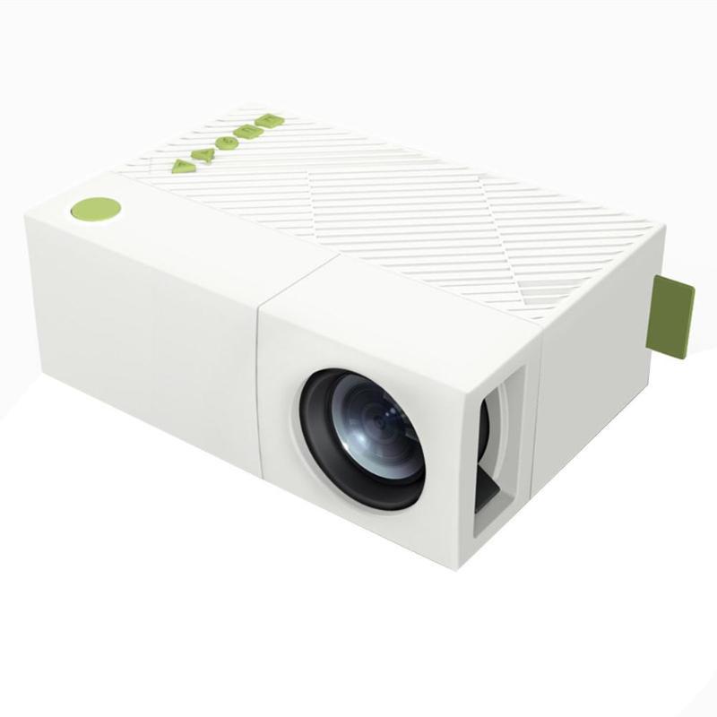 YG310 LCD LED-Projektor Hohe Auflösung LED-Projektion 400-600LUM 1080P AUDIO AV-Micro SD-Karten-Slot-Mini-Projektor