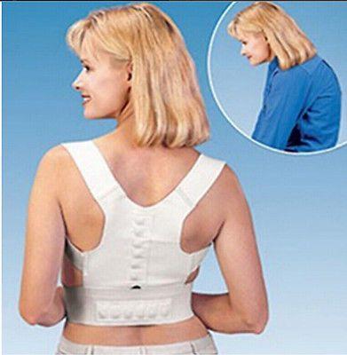 حار العلاج المغناطيسي الموقف مصحح الجسم آلام الظهر حزام هدفين الكتف دعم السيدات المرأة الملابس الحميمة
