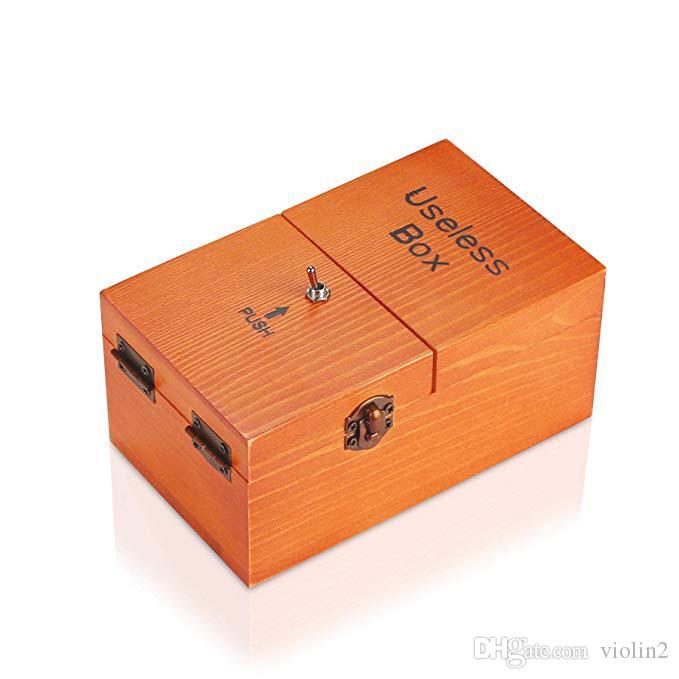 غير مجدية صندوق يتحول من تلقاء نفسه في خشبية صندوق تخزين آلة حدى تجميعها بشكل كامل في صندوق هدايا للكبار والأطفال