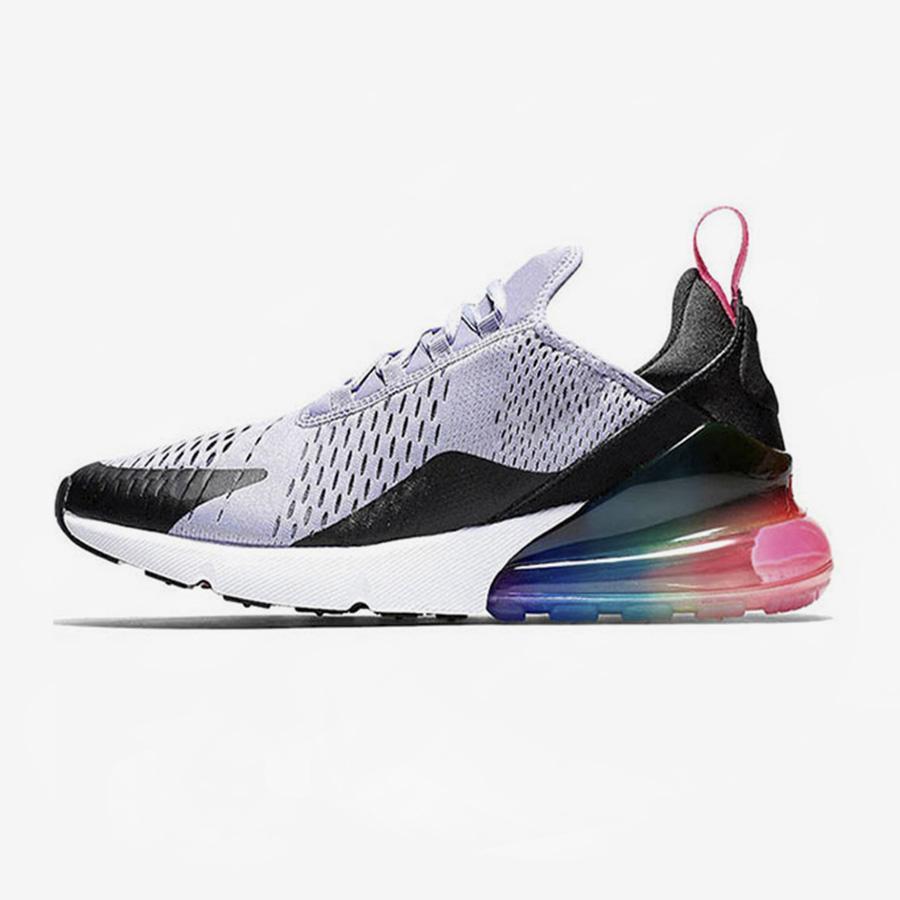 Compre Nike Air Max 270 Airmax 270 270s Zapatillas De Tenis Para Mujer Para Hombre BARELY ROSE Regency Purple Triple S Blanco Todas Las Zapatillas