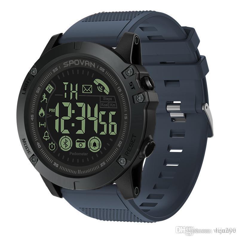 Hot nuovo cronografo orologi di sport degli uomini stile Relogio led guarda l'orologio militare regalo digitale vigilanza degli uomini ragazzo con box dropship