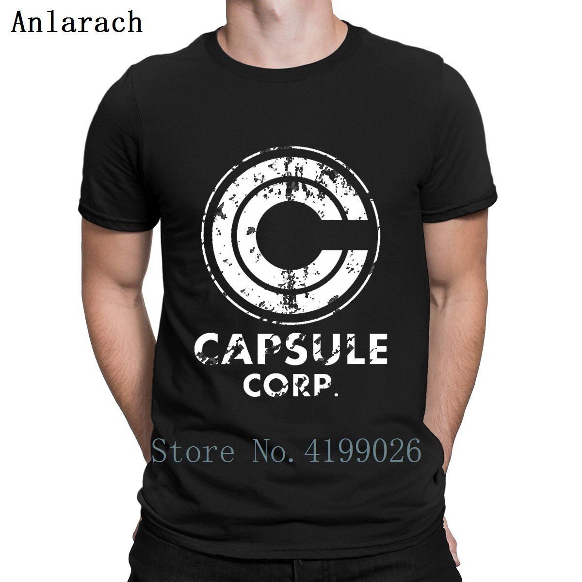 Capsule Corp Vegeta Goku T Shirt Quirky Personalizzato Cotton Semplici Gents Mens Streetwear Camicia La nuova Kawaii Style Summer Style