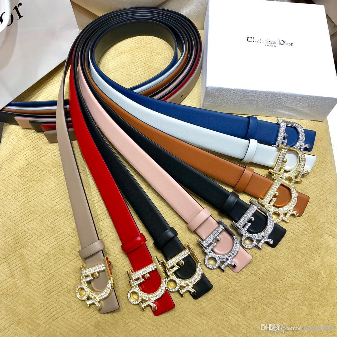 Marca hombre para mujer Cinturones de diseño de lujo marca de la correa Cinturones ocasional con estilo liso de oro de la astilla de la hebilla opcional Ancho de 34 mm de alta calidad con la caja