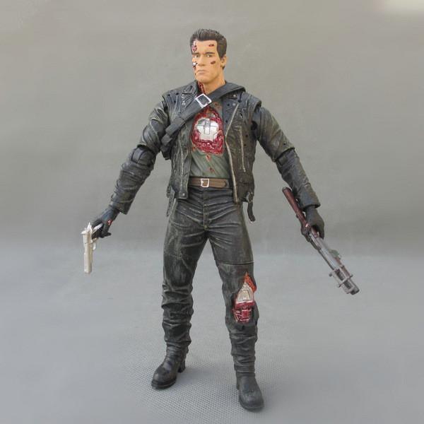 wholesale Movie Figura 18 CM Terminator 2 Action Figure T-T-Steel Mill PVC Action Figure Toy Model Toy collezionismo