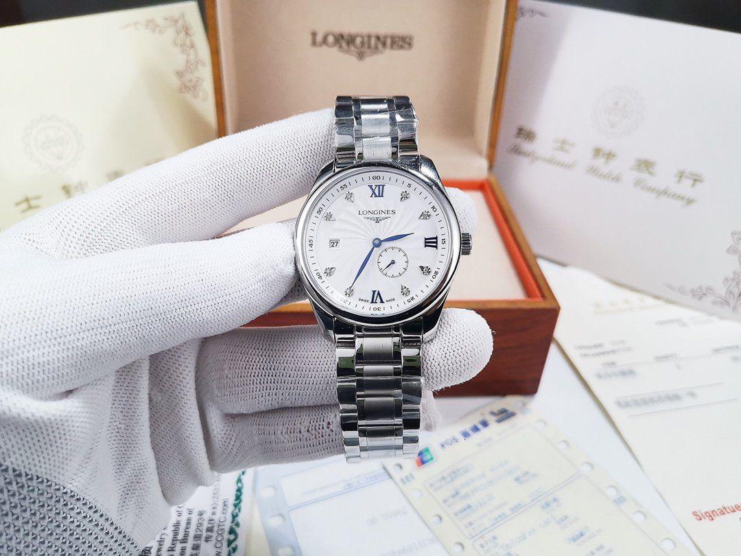 les hommes chronographes de haute qualité coffret cadeau montres-bracelets exquis WSJ060 # 120228
