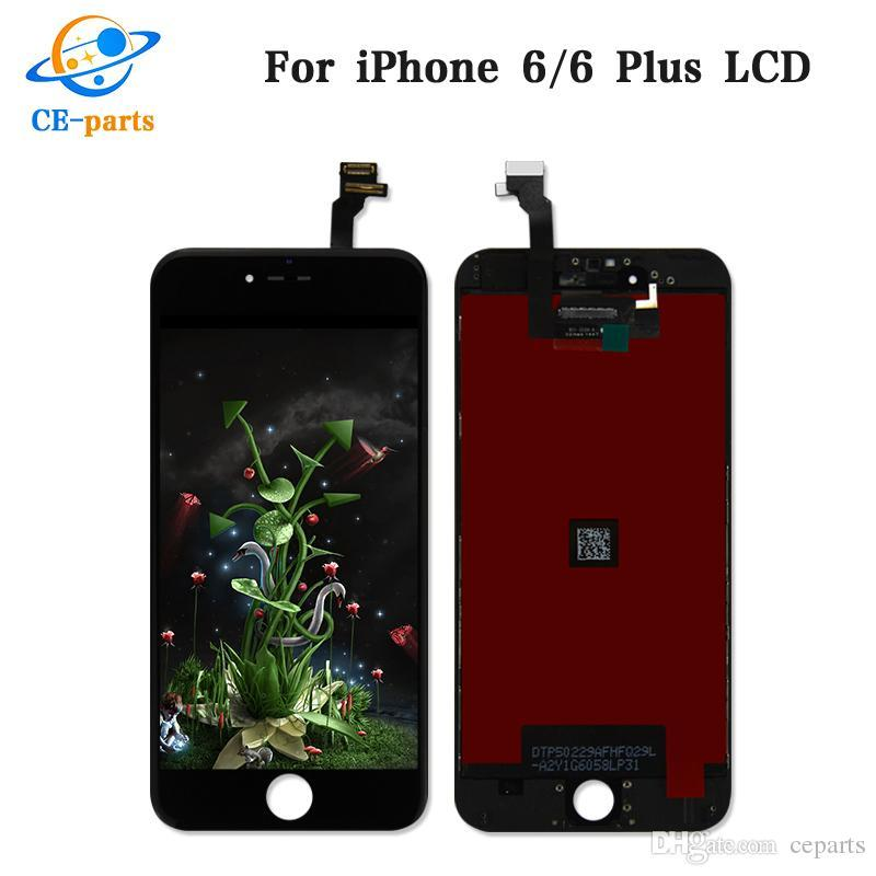 Top A+++ Tianma Quality LCD Screen for iPhone 6 6 plus LCD Display Touch Digitizer Assembly Replacement Parts 100% Genuine No Dead Pixels