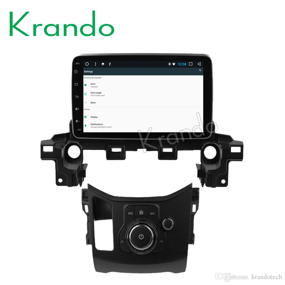 "Krando Android 8.1 9"" IPS Full touch big screen car multimedia player for Mazda CX-5 2017 GPS navigation system radio BT car dvd KD-MC825"