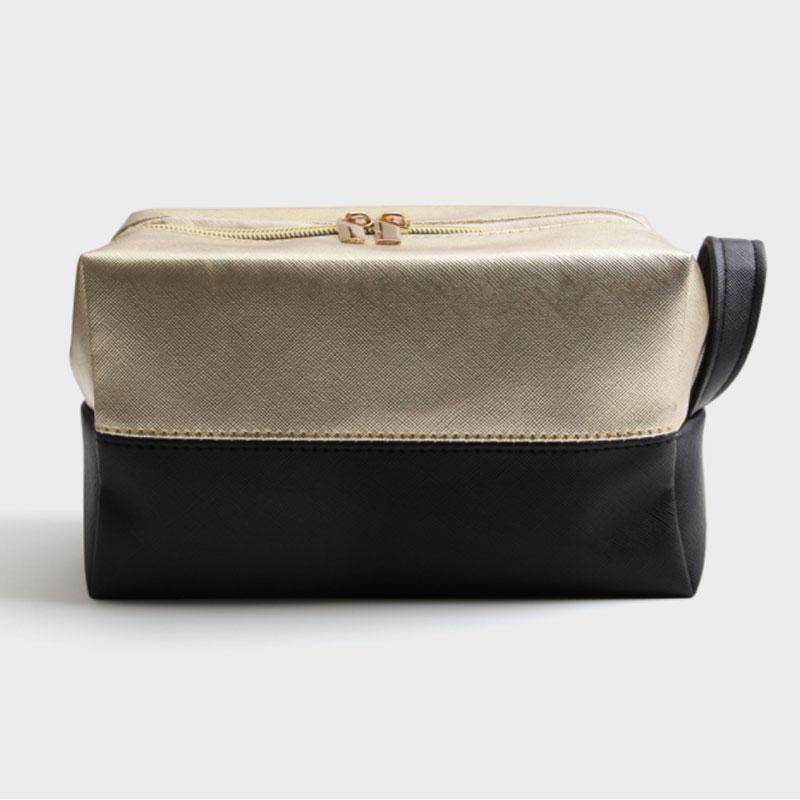 Fashion Makeup Organizer Bags Portable PU Make Up Brushes Cosmetic Case Toiletry Bag Travel Make Up Storage Kit