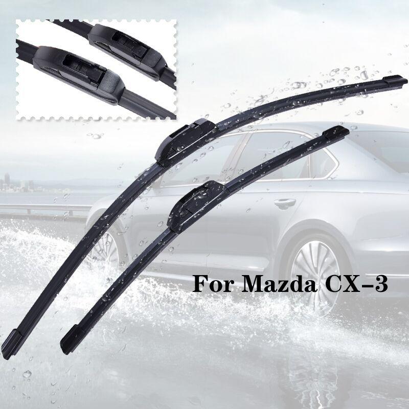 Limpador lâminas para CX-3 de 2015 2016 2017 2018 Limpa pára-brisa do carro