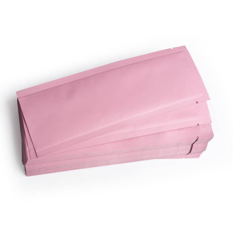 Чистая алюминиевая фольга плоский карман воды свет иглы мешок косметический уход за кожей образец Образец сумка на заказ