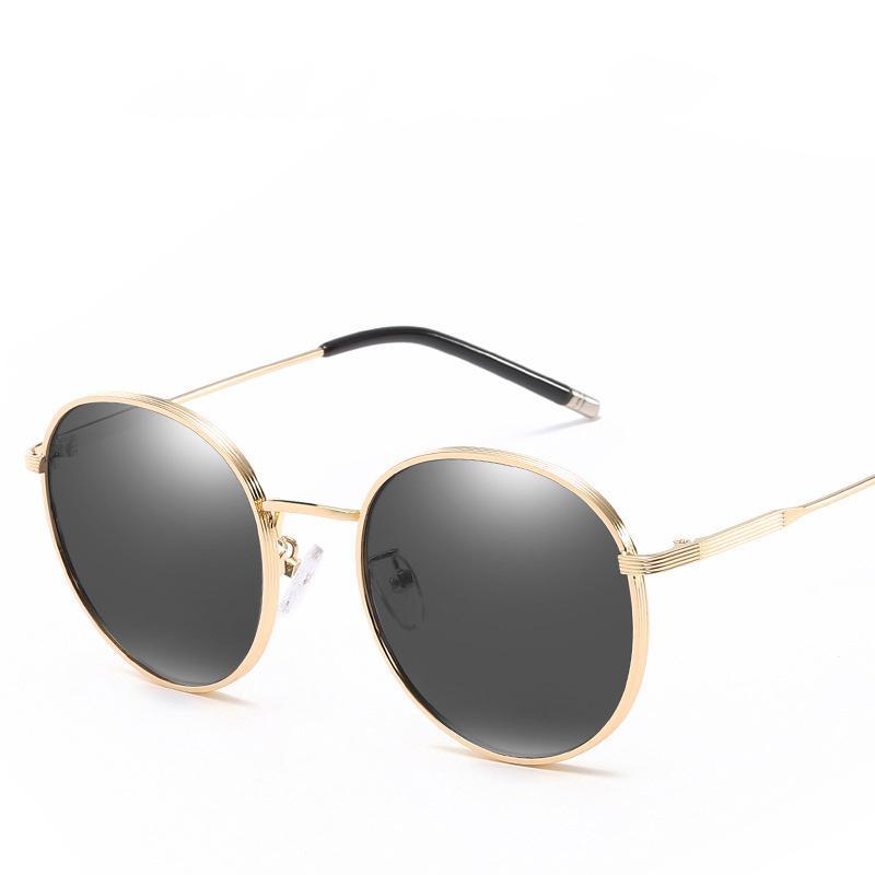 2020 nueva trama, polarizado gafas de sol retro, la moda de las mujeres, gafas de sol anti-ultravioleta, vasos de conducción, de calidad superior sombrilla personalizada