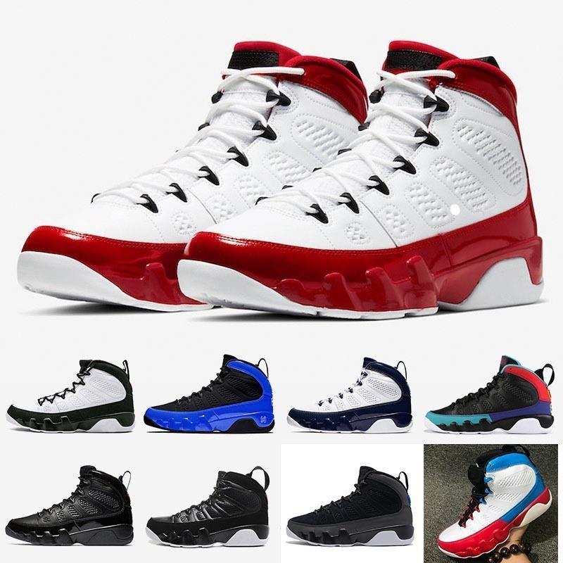 2020 zapatos rojos de gimnasio Jumpman 9s 3M corredor azul baloncesto del Mens OG Space Jam Piel de serpiente UNC 9 Sueño que hacen capacitadores que Bred