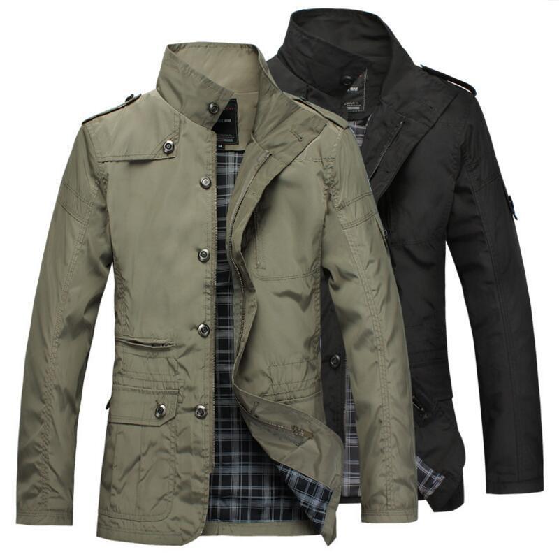 Designer Men Jacket Coat Long Section Fashion Trench Coat Men windbreaker Brand Casual Fit Overcoat Jacket Outerwear Large size 5XL Hot Sale