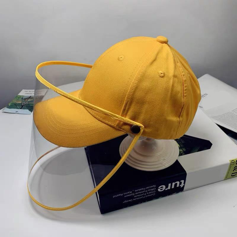 Baby baseball hat Anti-spitting Infection Protective Eye Cap Anti-fog Windproof Hat Anti-saliva Face Cover Cap