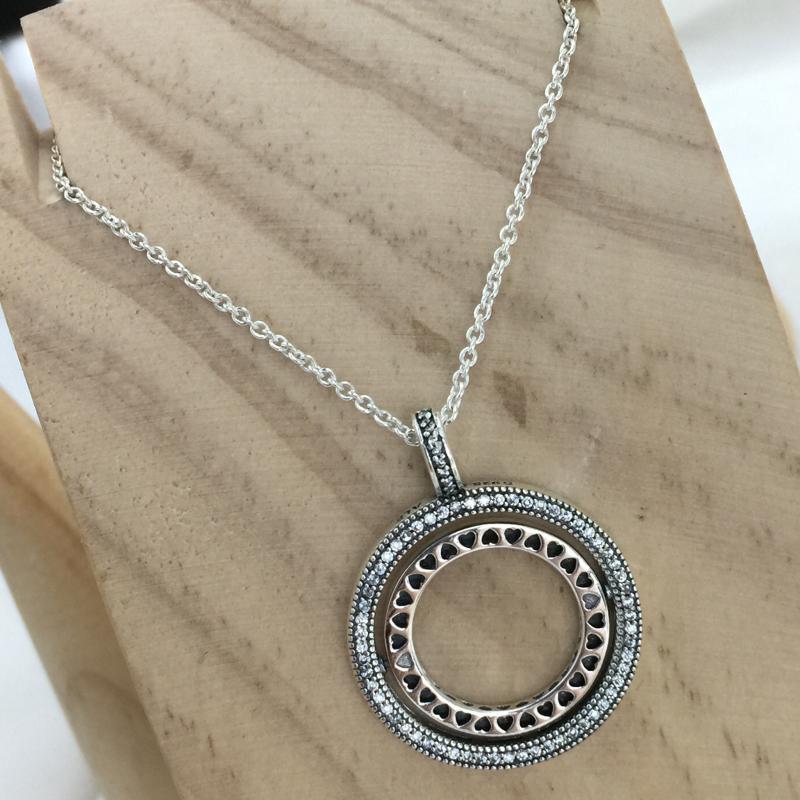 2019 100% 925 envía al por mayor Círculo clásico de la plata esterlina encanto de las mujeres joyas de moda de personalidad libre