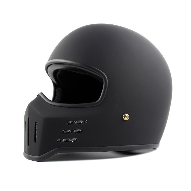 Japón Tokio brandCO retro estilo de la cara llena del casco de la motocicleta-01 helicóptero de la vendimia del estilo de moto casco cascos de moto