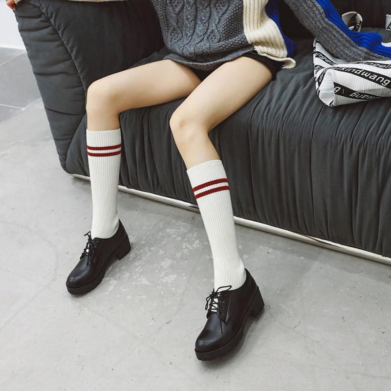 Spring Autumn Women Sock Boots 2018 New Stretch Fabric