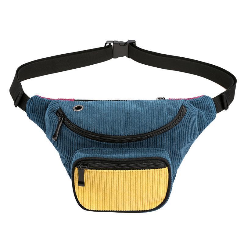Moda feminina Zipper Mensageiro de sacos de peito sacos de cintura Phone Messenger Bag Mulheres Couro Unisex Grande 2021