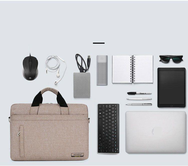 """Sac d'étui à manches pour ordinateur portable pour MacBook Air 13 PRO 13 PRO 15 '' Couverture sac à main pour ordinateur portable 14 """"13.3"""" 15.6 """"17"""" chaud"""