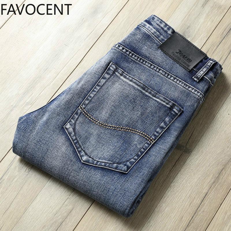 2020 Hommes Jeans Mode Droite Denim Pantalon Hommes Classique Casual Jeans Mâle Plus La Taille Denim pantalon déchiré pour hommes 28-40